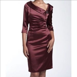 Kay Unger Cocktail Plum Dress